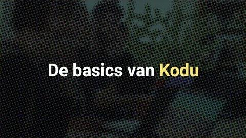 De basics van Kodu